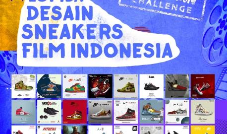 Finalis Lomba Desain Sneakers Film Indonesia!